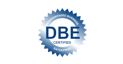 DBE logo Commercial Security System
