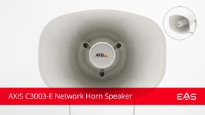 Axis Network Horn Speaker