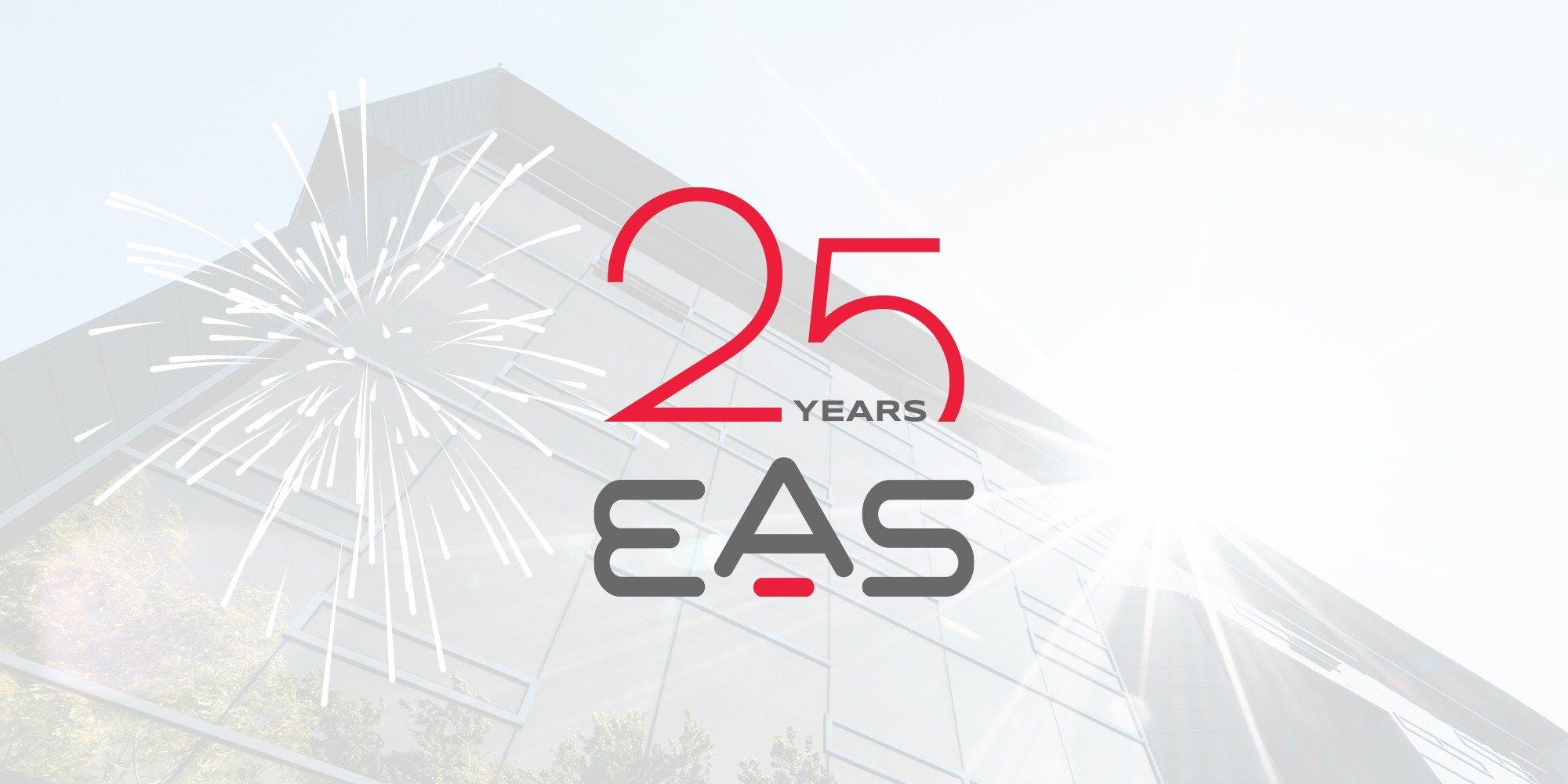 EAS 25th Anniversary Logo